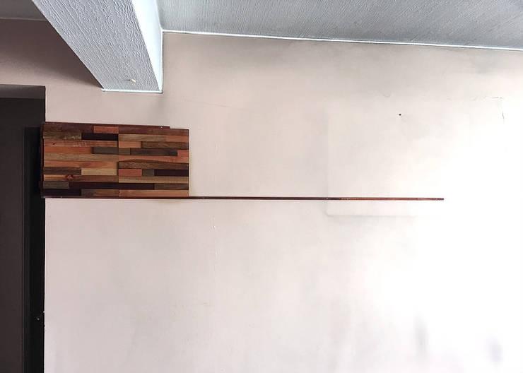 Instalando Maderal: Paredes y suelos de estilo  por Maderal