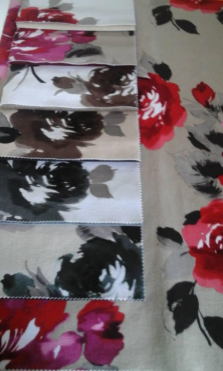 A escolha do tecido:   por Ideias Contemporâneas Interiores