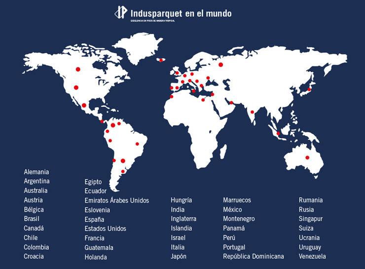 Indusparquet por el Mundo:  de estilo  por Indusparquet Argentina