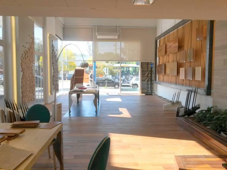 Bureau de style  par Indusparquet Argentina, Moderne Bois Effet bois