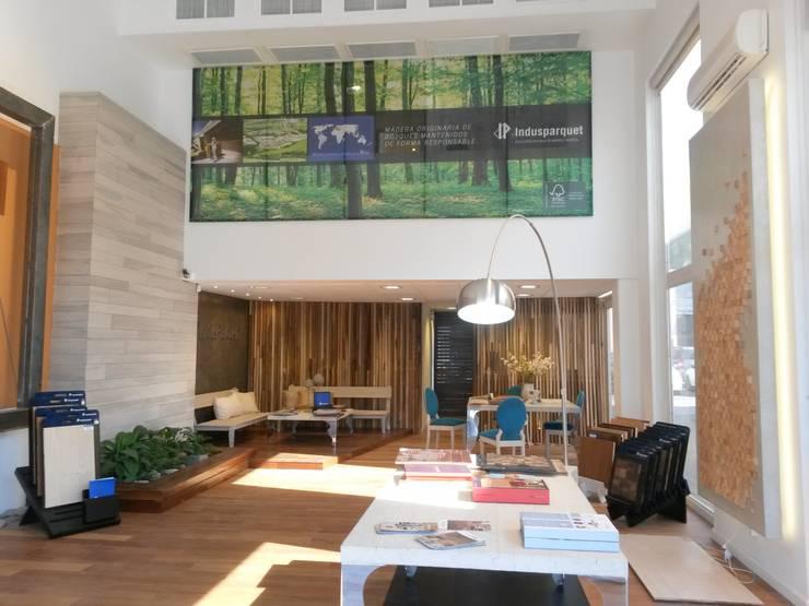 Bureau de style  par Indusparquet Argentina, Moderne