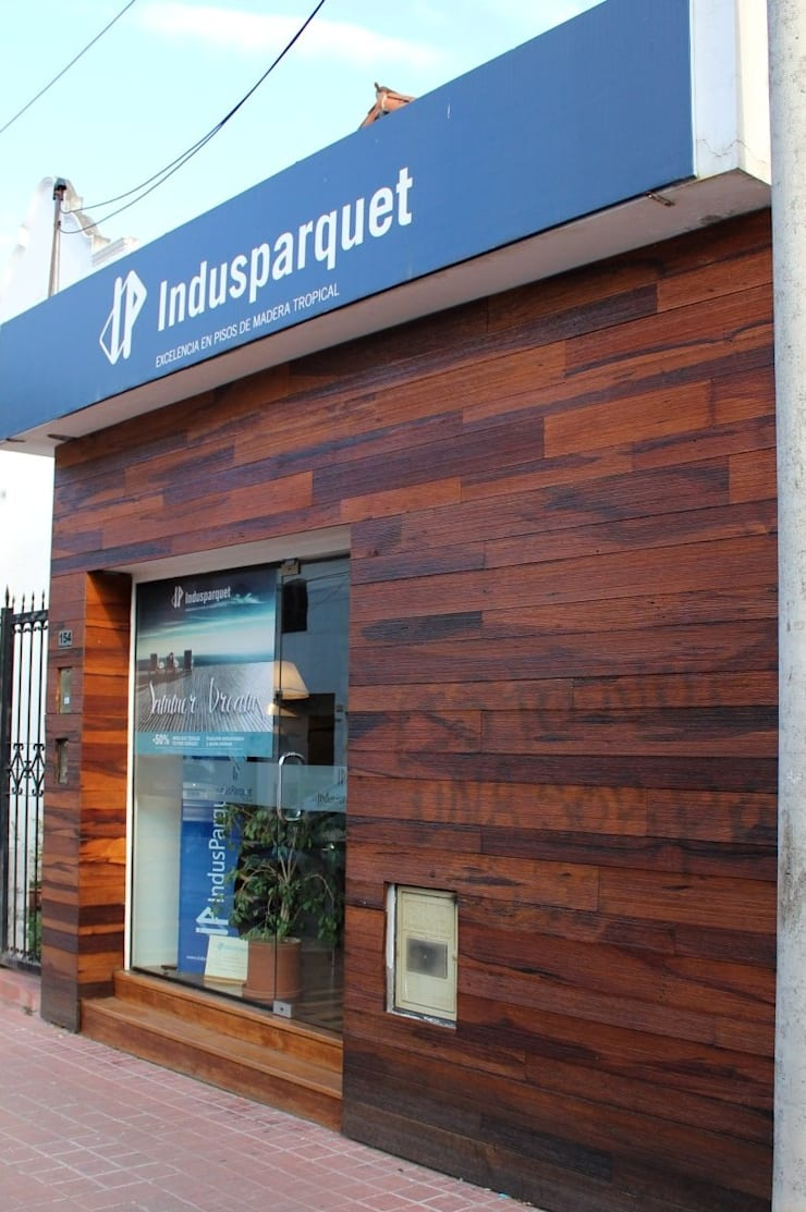 Estudios y despachos de estilo moderno de Indusparquet Argentina Moderno