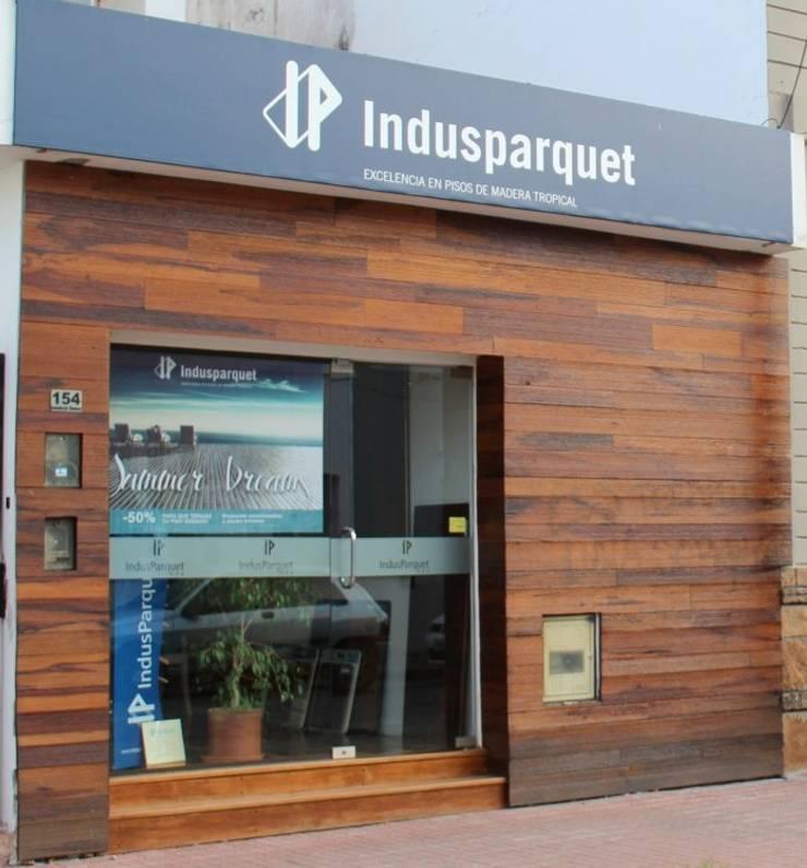 ห้องทำงาน/อ่านหนังสือ โดย Indusparquet Argentina, โมเดิร์น