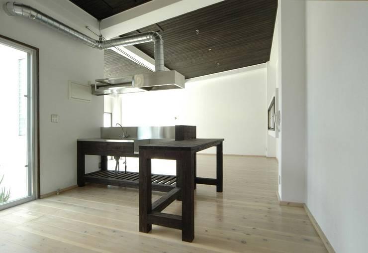 キッチン: 仁設計が手掛けたキッチンです。