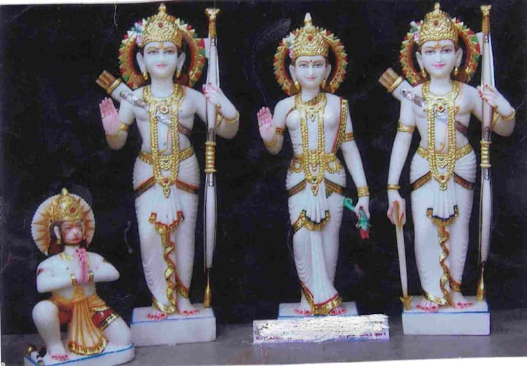 Marble Handicrafts:  Artwork by Vinod Murti Museum