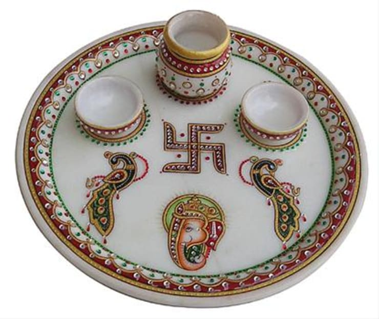 Thali:  Artwork by Vinod Murti Museum