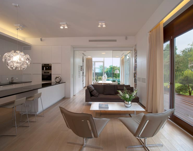 Salon: styl , w kategorii Salon zaprojektowany przez Pracownia Stolarska Top Design