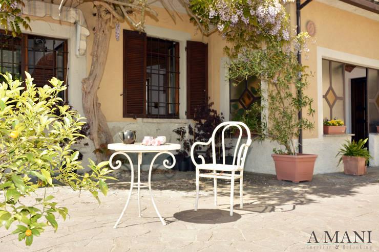 Garden: Hotel in stile  di A4MANI - Interior & Architecture,