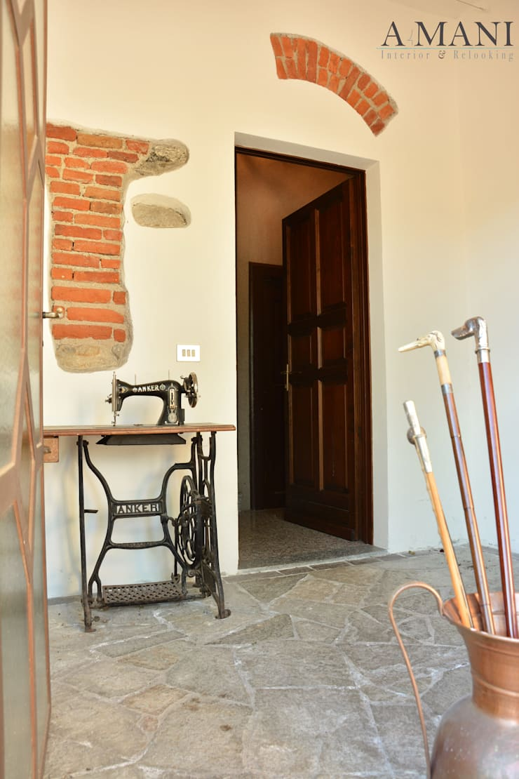 Ingresso: Hotel in stile  di A4MANI - Interior & Architecture,