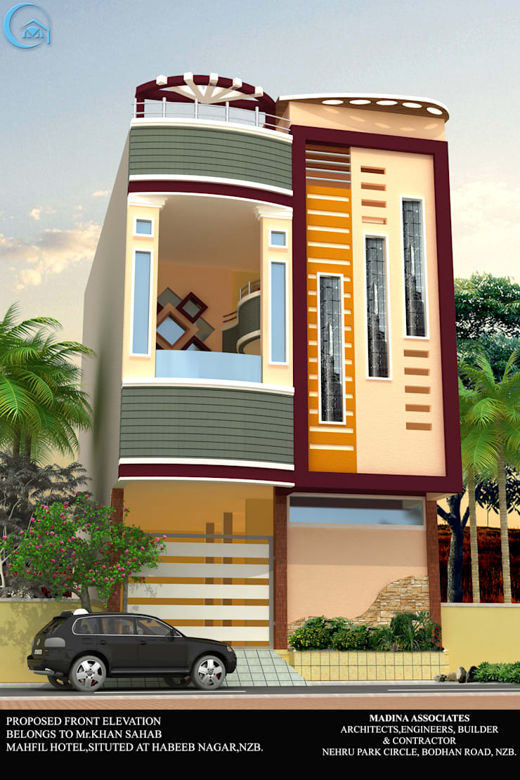 DUPLEX HOUSE:  Houses by MADINA ASSOCIATES