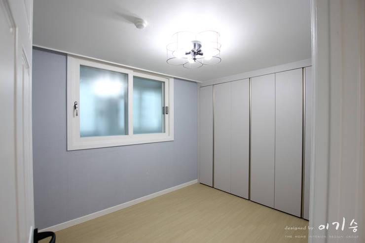 غرفة نوم تنفيذ 더홈인테리어