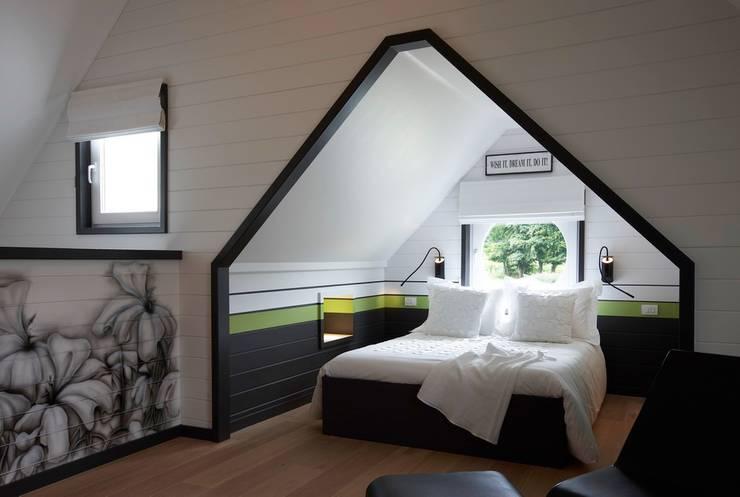 Спальни в . Автор – Brand BBA I BBA Architecten