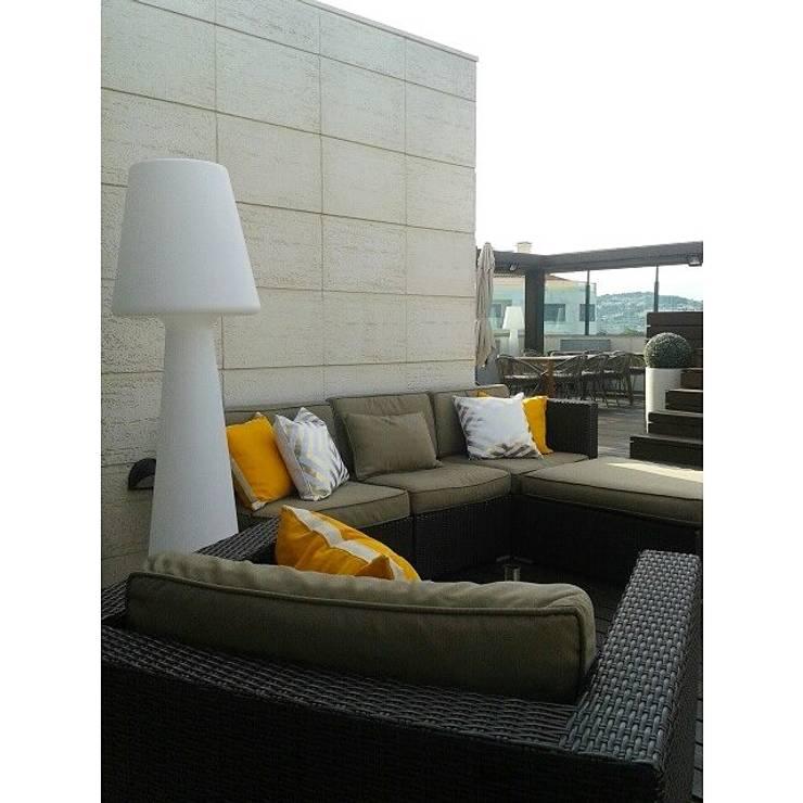PROJETO DE DECORAÇÃO EXTERIORES: Terraços  por all Design  [Arquitectura e Design de Interiores]