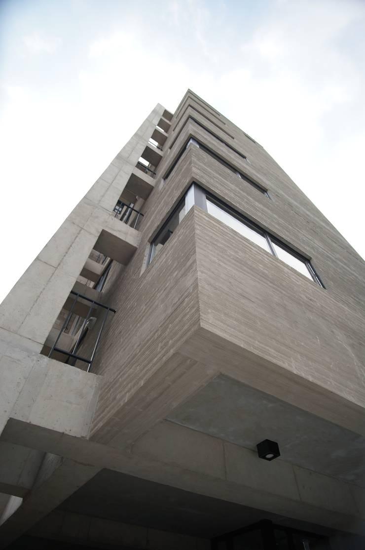 Wylie Building: 라움플랜 건축사사무소의  주택