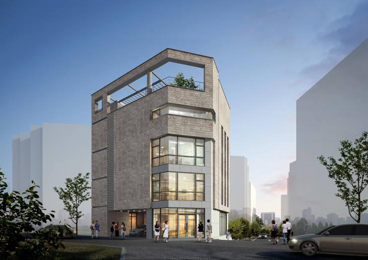 조감도: 라움플랜 건축사사무소의  주택