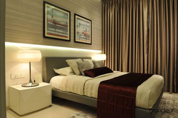 Bedroom 1:  Bedroom by Grandeur Interiors