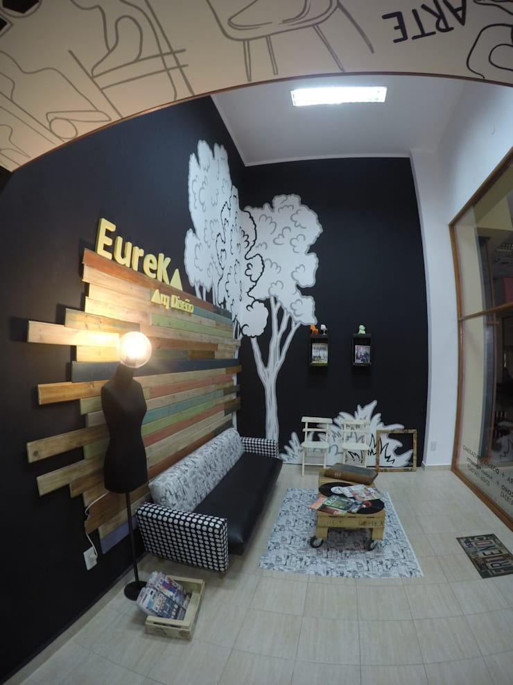 Commercial Spaces by Anabela Tuninetti - Deco & Vanguardia, Eclectic