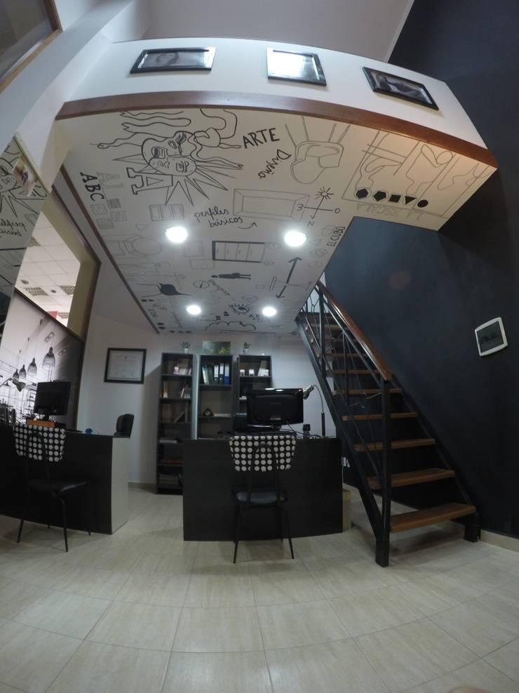 Espacio de trabajo: Oficinas y Tiendas de estilo  por Anabela Tuninetti - Deco & Vanguardia,