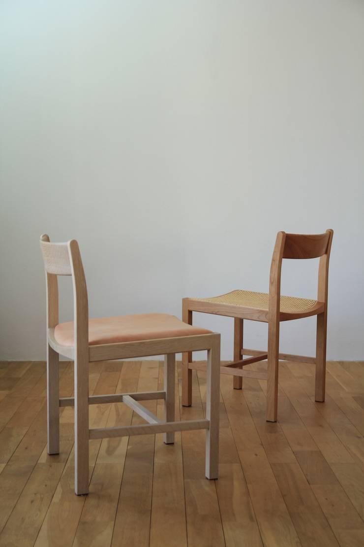 plain chair: hyakkaが手掛けたダイニングルームです。