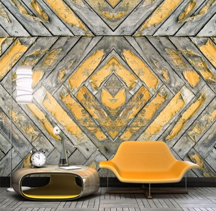 Mural QUATTRO 007: Casa  por VM HOME DESIGN