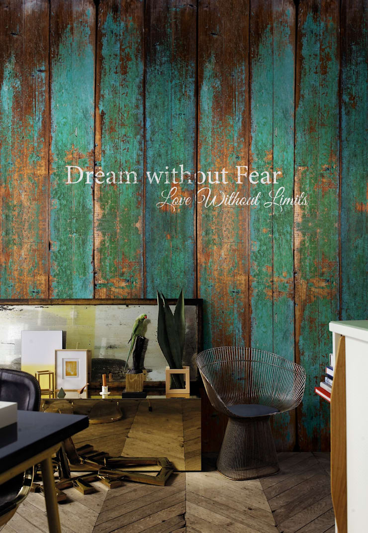 Mural WINDMILL 09: Casa  por VM HOME DESIGN