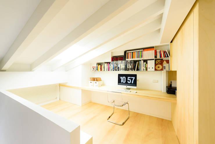 Escritórios e Espaços de trabalho  por Aina Deyà _ architecture & design