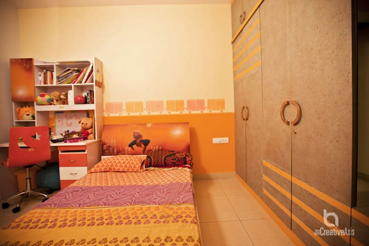 asian Nursery/kid's room by The creative axis