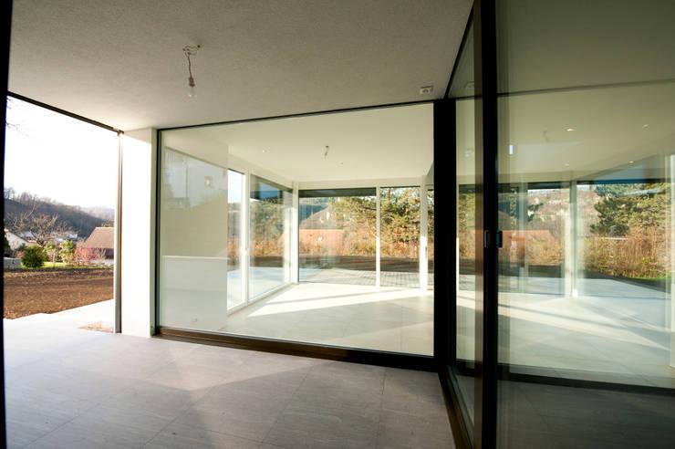 Terras door Mader Marti Architektur ETH SIA