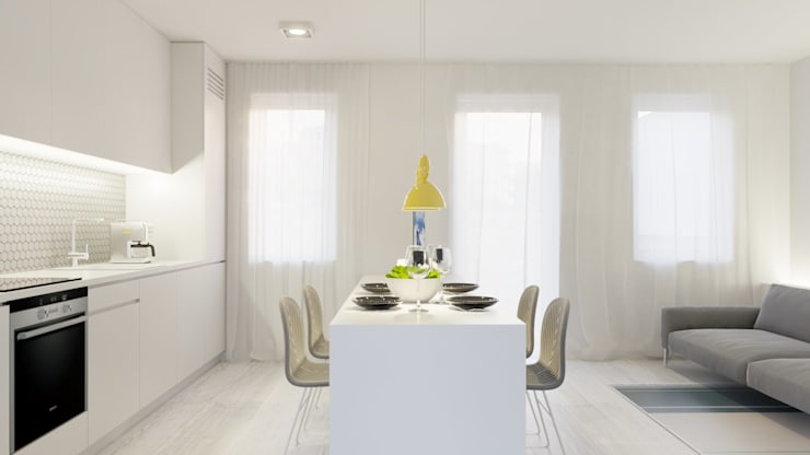 Dining room by NUKO STUDIO