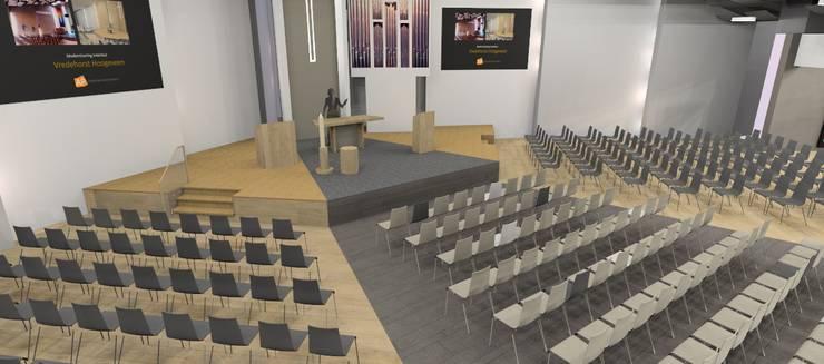 modernisering kerk :  Evenementenlocaties door AP-Interieurarchitect