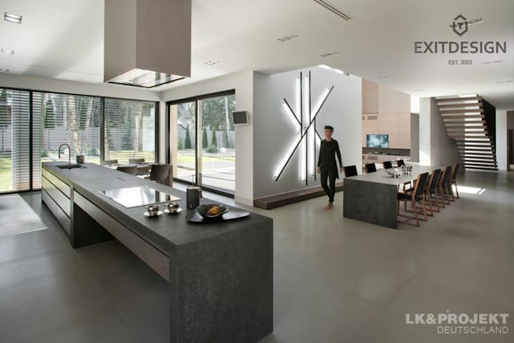 modern Kitchen by LK&Projekt GmbH