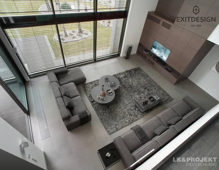 LK&Projekt GmbH: modern tarz Oturma Odası