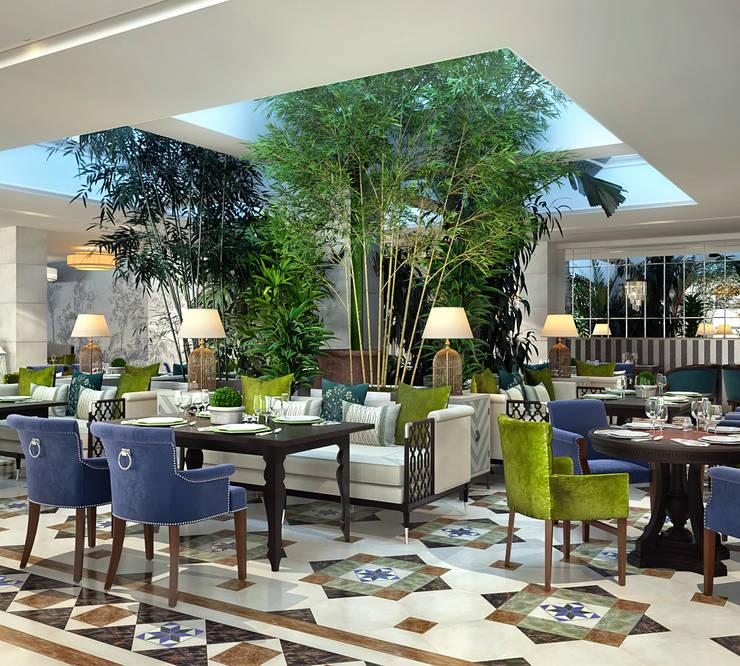 """Ресторан """"Sky Garden"""": Ресторации в . Автор – Sweet Home Design, Эклектичный"""