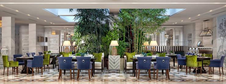 Ресторан <q>Sky Garden</q>: Ресторации в . Автор – Sweet Home Design, Тропический