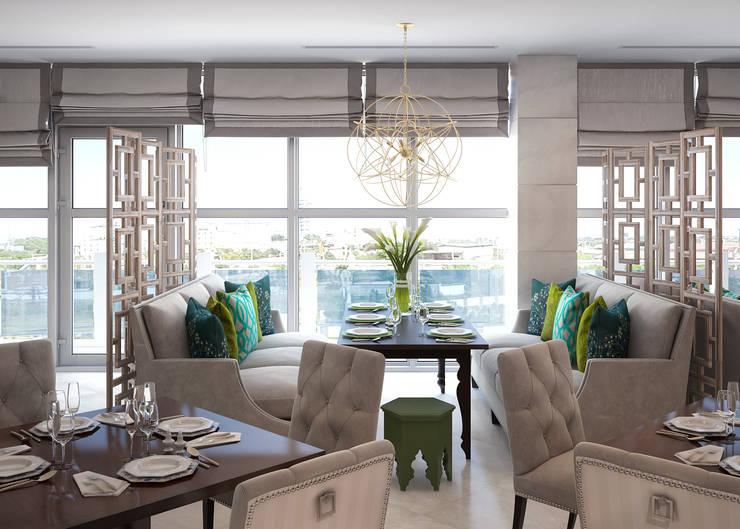 Ресторан <q>Sky Garden</q>: Ресторации в . Автор – Sweet Home Design, Эклектичный