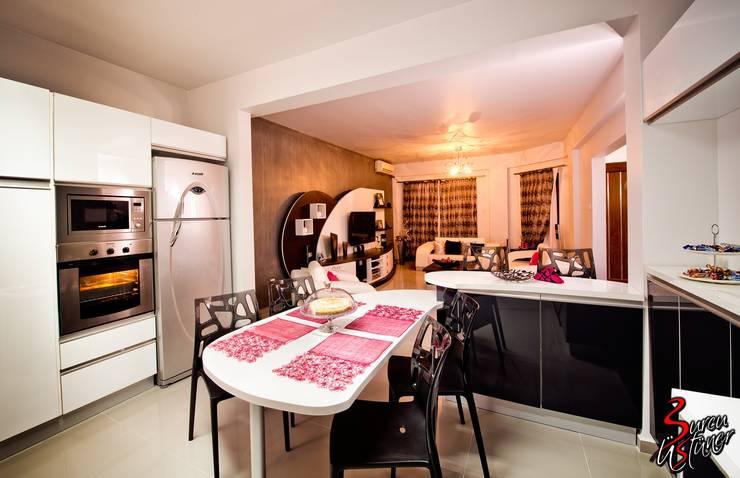 Şölen Üstüner İç mimarlık – Fatoş -Halil Kaan evi / Boğaz:  tarz Mutfak