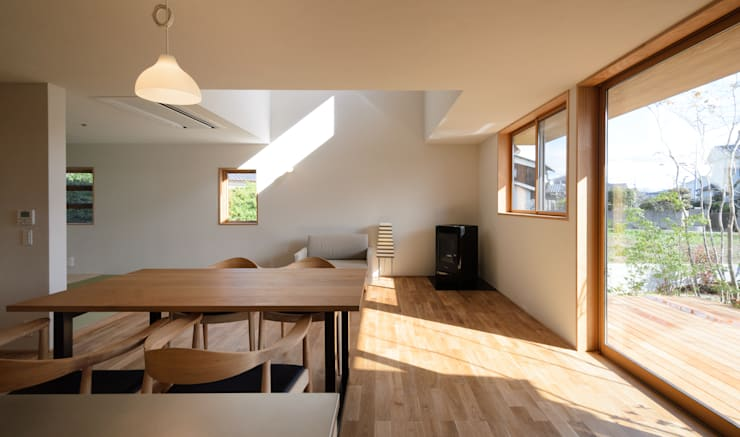 LDK: バウムスタイルアーキテクト一級建築士事務所が手掛けたダイニングです。
