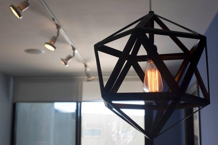 Departamento Muestra Torre Adamant II: Comedor de estilo  por LF Oficina de Arquitectura
