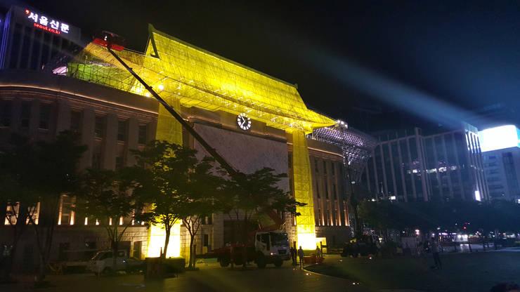 광복70주년_'나의 시청': (주)팀웍디자인의  행사장