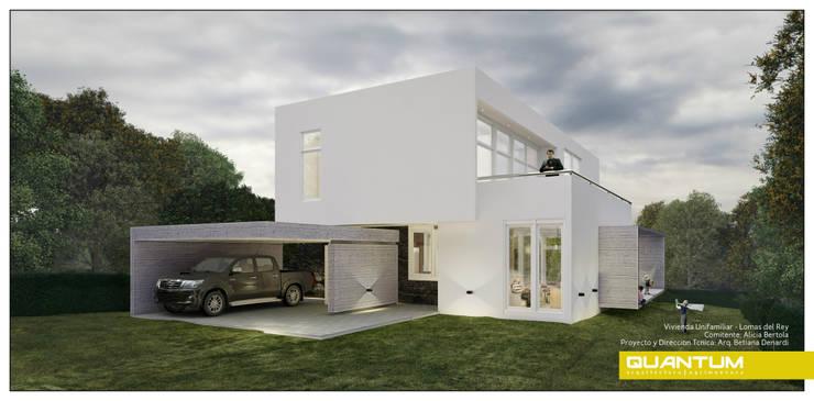 FACHADA FRONTAL: Casas de estilo  por Betiana Denardi | Arquitecta