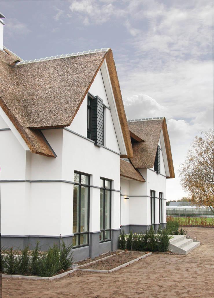 voorgevel:  Huizen door Arend Groenewegen Architect BNA