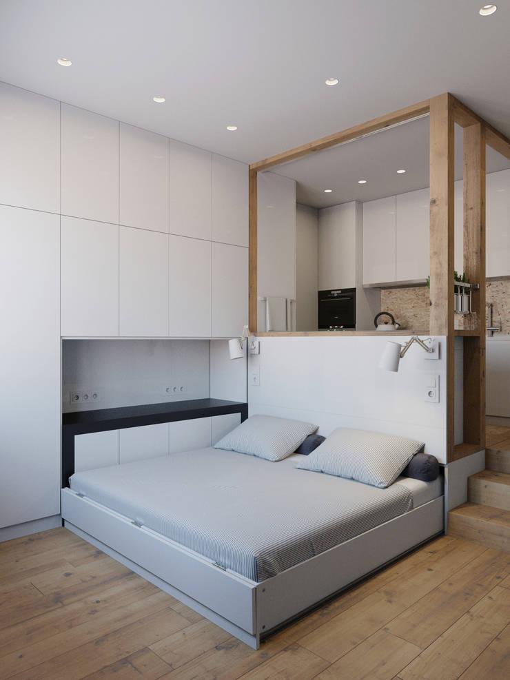 Bedroom by Anton Medvedev Interiors