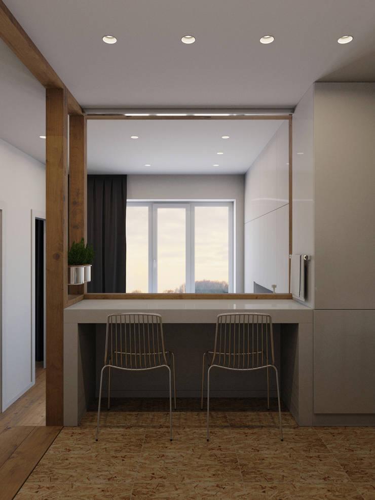 Kitchen by Anton Medvedev Interiors