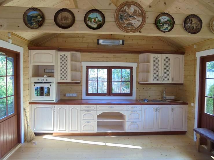 Решение в студио: Кухня в . Автор – URBAN wood