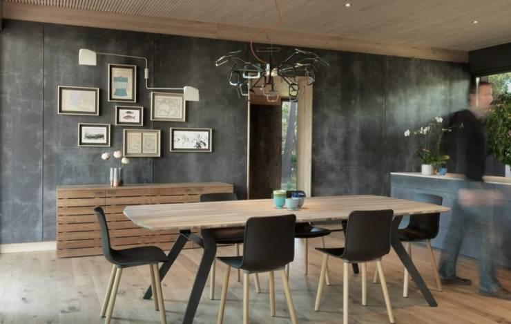 SARGRUP İNŞAAT VE ENERJİ LTD.ŞTİ. – Fibercement paneller: minimalist tarz , Minimalist Orta Yoğunlukta Lifli Levha