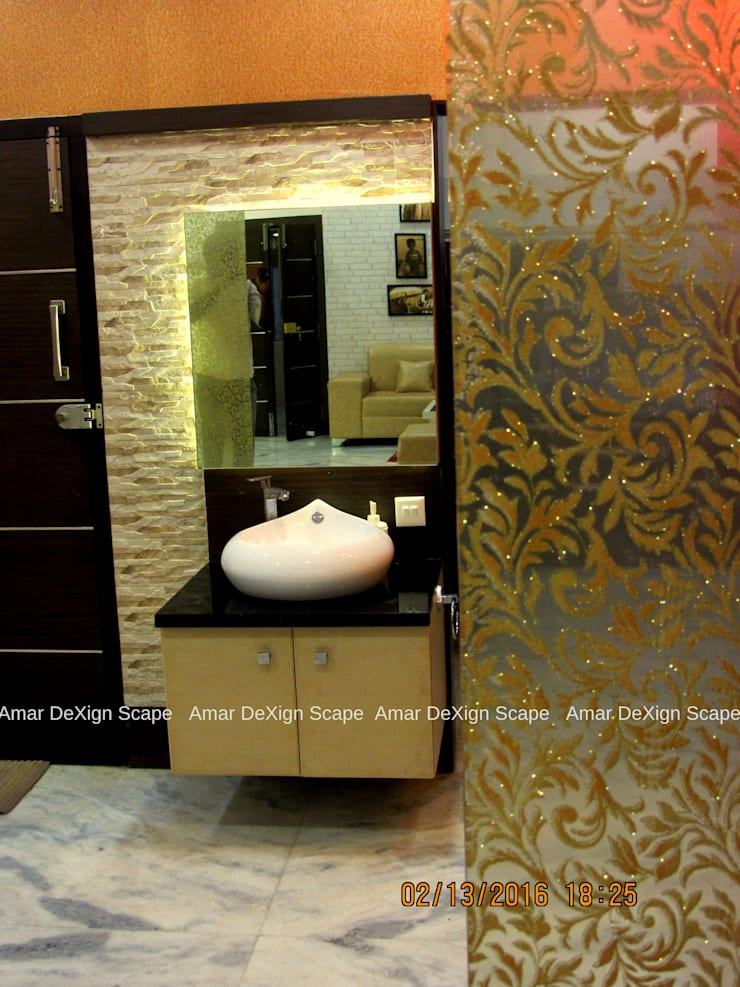 Wash Unit:  Dining room by Amar DeXign Scape