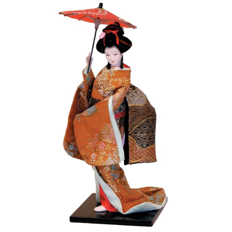 Collectible Japanese Doll:  Artwork by Asia Dragon