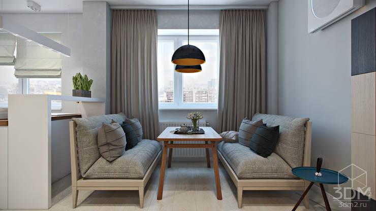 Salas / recibidores de estilo  por студия визуализации и дизайна интерьера '3dm2'