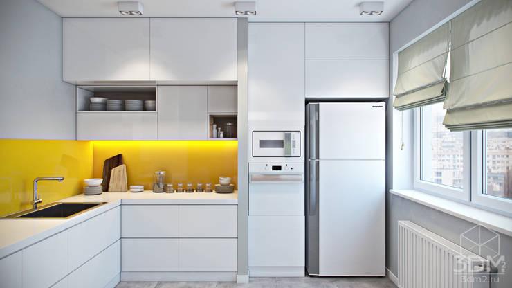 Dapur oleh студия визуализации и дизайна интерьера '3dm2', Minimalis