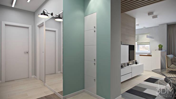 Koridor dan lorong oleh студия визуализации и дизайна интерьера '3dm2', Minimalis